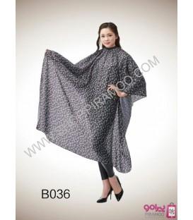 پیش بند طرح کوکو شنل کد B036 قواره متوسط سایز 160x150