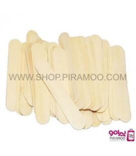 کاردک چوبی یکبار مصرف 100 عددی