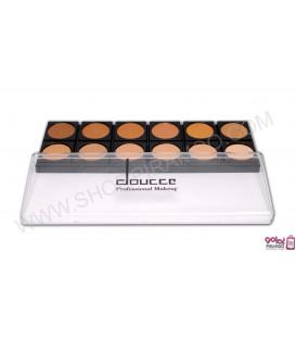 پالت فوندیشن 12 رنگ دوسه doucce Professional Makeup