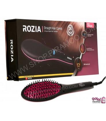 برس حرارتی سرامیکی روزیا مدل :Rozia Straightening Brush HR765