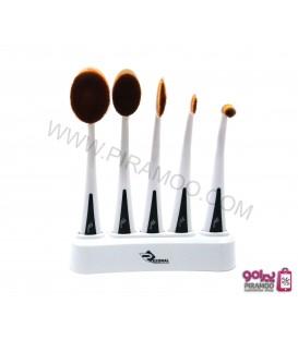 بیشترست براش مسواکی 5 عددی رزونال Rezonal makeup brush