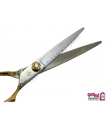 قیچی کات طلایی کنده کاری شده 7 اینچ رزونال مدل REZONAL RL-230