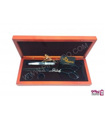 قیچی کات مشکی 7 اینچ رزونال مدل REZONAL RL-210