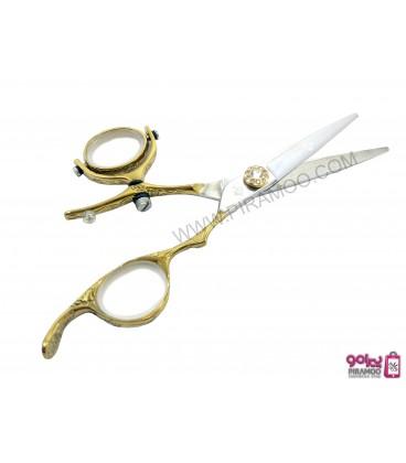 قیچی کات طلایی 5.5 اینچ دسته گردان رزونال مدل REZONAL RL-450