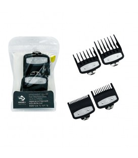 پک 4 عددی شانه وال رزونال Wahl 4-Pack Color-Coded Cutting Guides