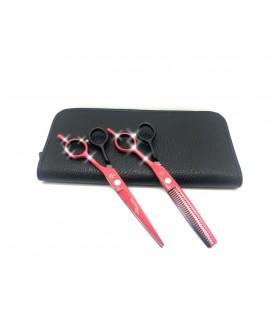 ست قیچی کات و پیتاژ 6 اینچ دو رنگ رزونال