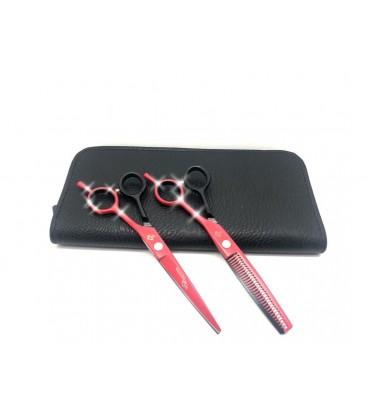 ست قیچی کات و پیتاژ 6 اینچ هفت رنگ رزونال