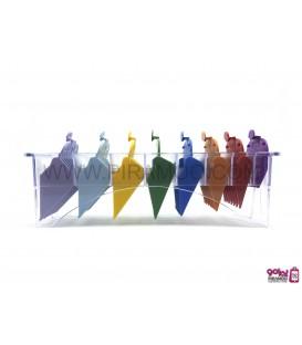 پک 8 عددی شانه رنگی ماشین وال Wahl 8-Pack Color-Coded Cutting Guides