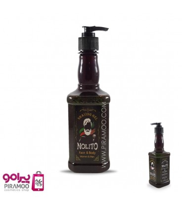 ژل اصلاح نولیتو 450 میل NOLITO SHAVING GEL