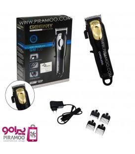 ماشین جیمی شارژی برقی مدل کوردلس گلد Gemei GM-805 professional hair clipper