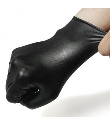 دستکش لاتکس مشکی Black Latex Gloves
