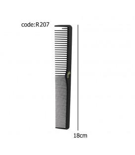 شانه کربن مشکی خارجی کد R207
