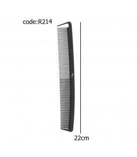 شانه کربن مشکی خارجی کد R214