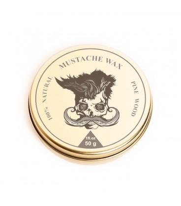 واکس حالت دهنده و تقویت سبیل چوب کاج پرشیا برد کلاب Mustache Wax 50 g