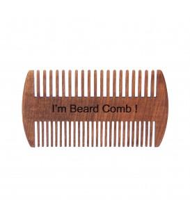 شانه ریش چوبی طرح دوطرفه پرشیا بیرد کلاب PERSIA BEARD CLUB BEARD COMB