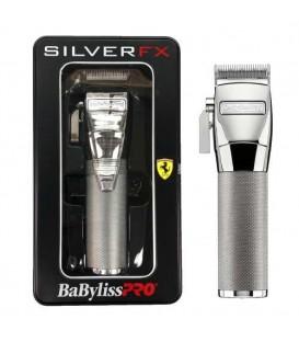 ماشین اصلاح سر و صورت متال بابلیس BaBylissPro SILVERFX Metal Lithium Clipper FX870S