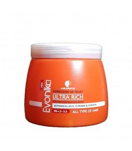 ماسک مو بازسازی و ترمیم کننده اوونیکا بسیار قوی Evonika Expression of trust Ultra Rich