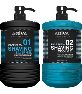ژل اصلاح آگیوا AGIVA SHAVING GEL 1000 ML