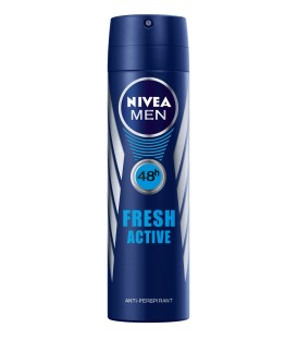 اسپری مردانه نیوآ مدل : NIVEA MEN Fresh Active