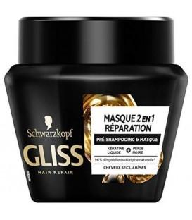 ماسک مو گلیس مدل ریپیر ۲ در ۱ شوارتزکف Repair 2In1 Gliss Hair Mask Schwarzkopf